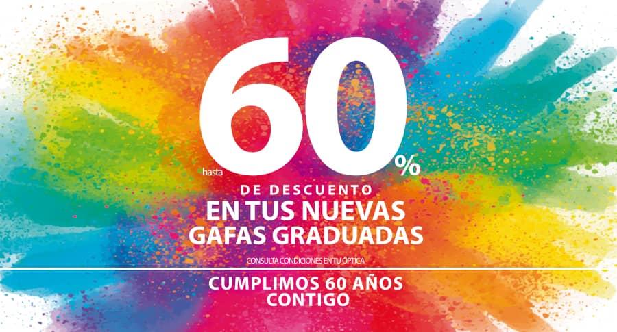 60 aniversario Opticalia Sangabino