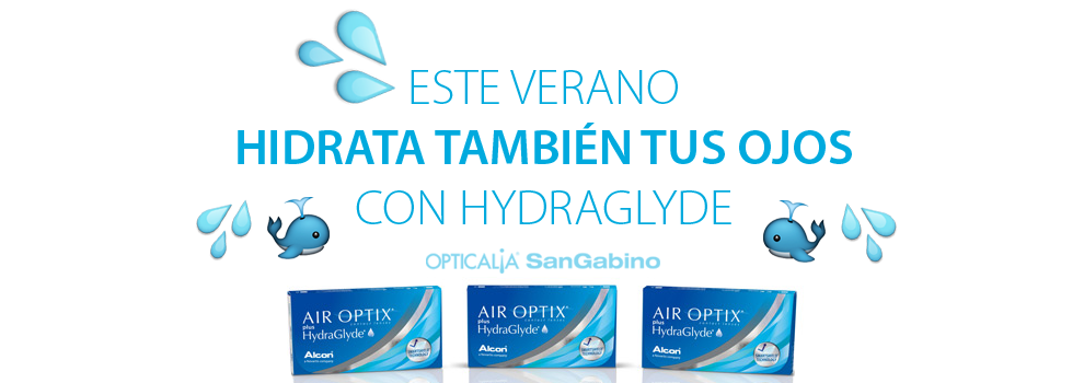 Lentillas Air Optix Plus Hydraglyde