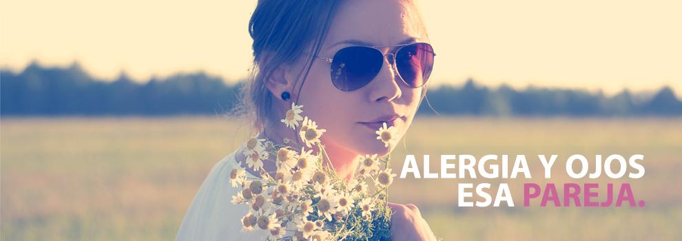 la alergia y los ojos