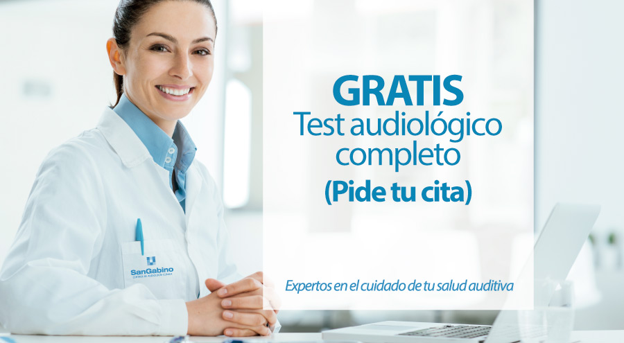 cita test audiologico