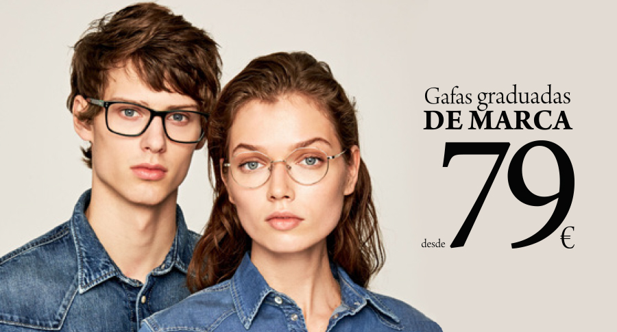 oferta gafa graduada Mango o Pepe Jeans por 79 euros solo en Opticalia