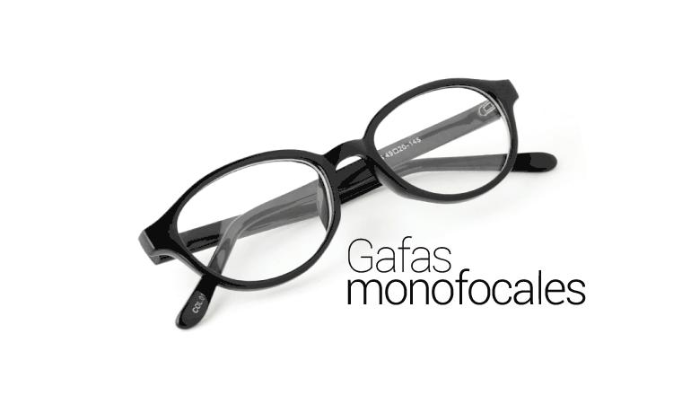 Gafas con lentes monofocales