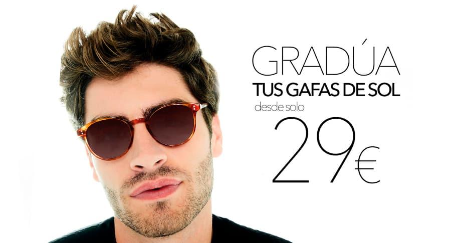 gafa de sol graduada 29 euros