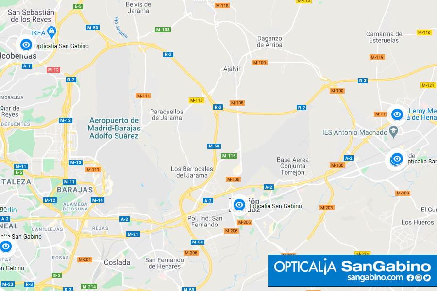 Opticalia Corredor del Henares. Alcalá, Torrejón y Alcobendas