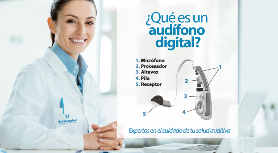 que es audifono digital