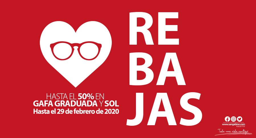 Rebajas gafas graduadas en Opticalia