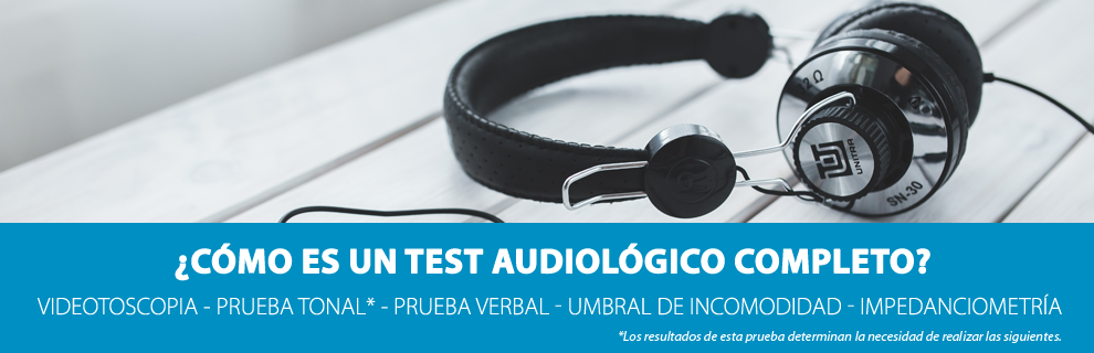 test auditivo audifonos